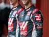 TEST F1 BARCELLONA 22 FEBBRAIO, Romain Grosjean (FRA) Haas F1 Team (Right) with team mate Esteban Gutierrez (MEX) Haas F1 Team. 22.02.2016.