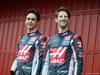 TEST F1 BARCELLONA 22 FEBBRAIO, (L to R): Esteban Gutierrez (MEX) Haas F1 Team e team mate Romain Grosjean (FRA) Haas F1 Team. 22.02.2016.