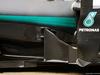 TEST F1 BARCELLONA 22 FEBBRAIO, Mercedes AMG F1 W07 Hybrid sidepod detail. 22.02.2016.