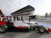 TEST F1 BARCELLONA 22 FEBBRAIO, Esteban Gutierrez (MEX) Haas F1 Team leaves the pits. 22.02.2016.