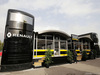 TEST F1 BARCELLONA 22 FEBBRAIO, Renault Sport F1 Team motorhome. 22.02.2016. F