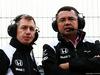 TEST F1 BARCELLONA 22 FEBBRAIO, Eric Boullier (FRA) McLaren Racing Director (Right). 22.02.2016.