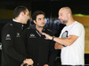 TEST F1 BARCELLONA 22 FEBBRAIO, Cyril Abiteboul (FRA) Renault Sport F1 Managing Director (Left) with Gerard Lopez (FRA) (Right). 22.02.2016.