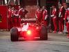 TEST F1 BARCELLONA 23 FEBBRAIO, Sebastian Vettel (GER)  Ferrari SF16-H in the pits. 23.02.2016.