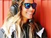 TEST F1 BARCELLONA 23 FEBBRAIO, Lara Alvarez (ESP), girlfriend of Fernando Alonso (ESP) McLaren. 23.02.2016.