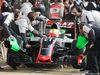TEST F1 BARCELLONA 25 FEBBRAIO, Esteban Gutierrez (MEX) Haas F1 Team VF-16. 25.02.2016.