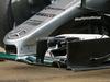 TEST F1 BARCELLONA 25 FEBBRAIO, Lewis Hamilton (GBR) Mercedes AMG F1 W07 Hybrid - front wing detail. 25.02.2016.