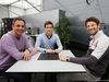 TEST F1 BARCELLONA 2 MARZO, (L to R): Jean-Denis Deletraz (SUI) with Louis Deletraz (SUI) Renault Sport Academy Driver e Romain Grosjean (FRA) Haas F1 Team. 02.03.2016.