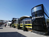 TEST F1 BARCELLONA 2 MARZO, Renault Sport F1 Team motorhome in the paddock. 02.03.2016.