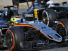 TEST F1 BARCELLONA 2 MARZO, Sergio Perez (MEX) Sahara Force India F1 VJM09 e Kevin Magnussen (DEN) Renault Sport F1 Team RS16. 02.03.2016.