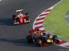 TEST F1 BARCELLONA 2 MARZO, Daniel Ricciardo (AUS) Red Bull Racing RB12 davanti a Sebastian Vettel (GER) Ferrari SF16-H. 02.03.2016.