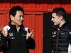 TEST F1 BARCELLONA 4 MARZO, (L to R): Yasuhisa Arai (JPN) Honda Motorsport Chief Officer with Stoffel Vandoorne (BEL) McLaren Test e Reserve Driver. 04.03.2016.