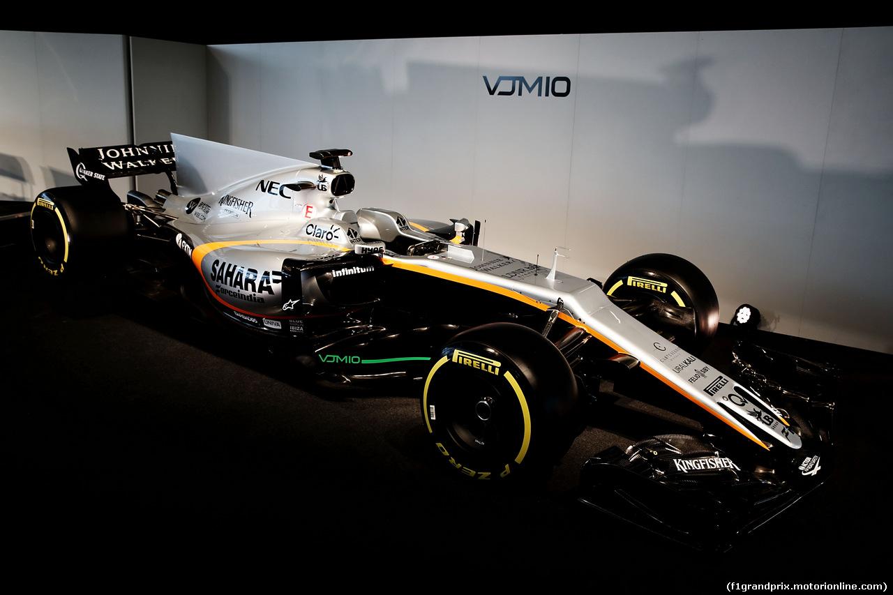 FORCE INDIA VJM10, The Sahara Force India F1 VJM10. 22.02.2017.