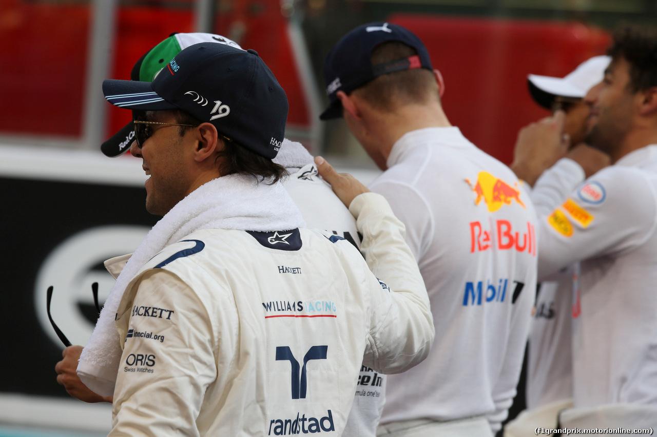 GP ABU DHABI, 26.11.2017 - Gara, Felipe Massa (BRA) Williams FW40