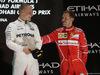 GP ABU DHABI, 26.11.2017 - Gara, Valtteri Bottas (FIN) Mercedes AMG F1 W08 vincitore e 3rd place Sebastian Vettel (GER) Ferrari SF70H