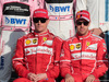 GP ABU DHABI, 26.11.2017 - Kimi Raikkonen (FIN) Ferrari SF70H e Sebastian Vettel (GER) Ferrari SF70H