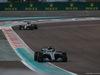 GP ABU DHABI, 26.11.2017 - Gara, Valtteri Bottas (FIN) Mercedes AMG F1 W08 davanti a Lewis Hamilton (GBR) Mercedes AMG F1 W08