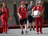 GP ABU DHABI, 23.11.2017 - Stefania Boccoli (ITA) Ferrari PR Officer e Kimi Raikkonen (FIN) Ferrari SF70H
