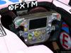 GP ABU DHABI, 23.11.2017 -  The steering wheel of Sahara Force India F1 VJM010