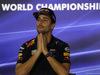 GP ABU DHABI, 23.11.2017 -  Conferenza Stampa, Daniel Ricciardo (AUS) Red Bull Racing RB13