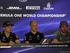 GP ABU DHABI, 23.11.2017 -  Conferenza Stampa, Max Verstappen (NED) Red Bull Racing RB13, Valtteri Bottas (FIN) Mercedes AMG F1 W08 e Fernando Alonso (ESP) McLaren MCL32
