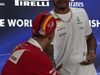 GP ABU DHABI, 23.11.2017 -  Conferenza Stampa, Sebastian Vettel (GER) Ferrari SF70H e Lewis Hamilton (GBR) Mercedes AMG F1 W08