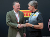 GP ABU DHABI, 23.11.2017 - Pirelli launches the new range of 2018 Formula 1 tyres, Sean Bratches, Formula 1 Managing Director, Commercial Operations e Robero Boccafoglio (ITA) Pirelli Head F1 Communications.
