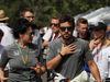 GP AUSTRALIA, 26.03.2017 - Silvia Frangipane Hoffer (ITA) Mclaren PR Officer e Fernando Alonso (ESP) McLaren MCL32
