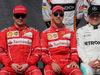 GP AUSTRALIA, 26.03.2017 - Kimi Raikkonen (FIN) Ferrari SF70H, Sebastian Vettel (GER) Ferrari SF70H e Valtteri Bottas (FIN) Mercedes AMG F1 W08