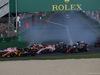 GP AUSTRALIA, 26.03.2017 - Gara, Start of the race, Sergio Perez (MEX) Sahara Force India F1 VJM010 e Nico Hulkenberg (GER) Renault Sport F1 Team RS17