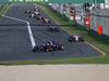 GP AUSTRALIA, 26.03.2017 - Gara, Carlos Sainz Jr (ESP) Scuderia Toro Rosso STR12 davanti a Sergio Perez (MEX) Sahara Force India F1 VJM010