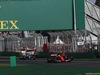 GP AUSTRALIA, 26.03.2017 - Gara, Sebastian Vettel (GER) Ferrari SF70H leaves the pit lane in front of Lewis Hamilton (GBR) Mercedes AMG F1 W08