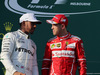 GP AUSTRALIA, 26.03.2017 - Gara, 2nd place Lewis Hamilton (GBR) Mercedes AMG F1 W08 e Sebastian Vettel (GER) Ferrari SF70H vincitore