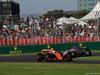 GP AUSTRALIA, 26.03.2017 - Gara, Fernando Alonso (ESP) McLaren MCL32 e Esteban Ocon (FRA) Sahara Force India F1 VJM10