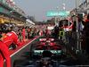 GP AUSTRALIA, 26.03.2017 - Gara, Sebastian Vettel (GER) Ferrari SF70H e Maurizio Arrivabene (ITA) Ferrari Team Principal