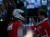 GP AUSTRALIA, 26.03.2017 - Gara, 1st place Sebastian Vettel (GER) Ferrari SF70H with Luigi Fraboni Ferrari Head of Engine Trackside Operations