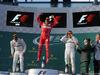 GP AUSTRALIA, 26.03.2017 - Gara, 1st place Sebastian Vettel (GER) Ferrari SF70H, 2nd place Lewis Hamilton (GBR) Mercedes AMG F1 W08 e 3rd place Valtteri Bottas (FIN) Mercedes AMG F1 W08