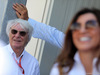 GP AZERBAIJAN, 25.06.2017 - Bernie Ecclestone (GBR) e sua moglie Fabiana Flosi (BRA)