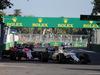 GP AZERBAIJAN, 25.06.2017 - Gara, Felipe Massa (BRA) Williams FW40 davanti a Esteban Ocon (FRA) Sahara Force India F1 VJM10