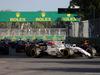 GP AZERBAIJAN, 25.06.2017 - Gara, Lance Stroll (CDN) Williams FW40 e Daniel Ricciardo (AUS) Red Bull Racing RB13