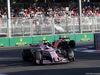 GP AZERBAIJAN, 25.06.2017 - Gara, Sergio Perez (MEX) Sahara Force India F1 VJM010 davanti a Stoffel Vandoorne (BEL) McLaren MCL32