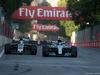 GP AZERBAIJAN, 25.06.2017 - Gara, Romain Grosjean (FRA) Haas F1 Team VF-17 e Valtteri Bottas (FIN) Mercedes AMG F1 W08