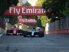 GP AZERBAIJAN, 25.06.2017 - Gara, Sebastian Vettel (GER) Ferrari SF70H e Lewis Hamilton (GBR) Mercedes AMG F1 W08