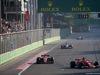 GP AZERBAIJAN, 25.06.2017 - Gara, Stoffel Vandoorne (BEL) McLaren MCL32 e Kimi Raikkonen (FIN) Ferrari SF70H