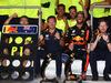 GP AZERBAIJAN, 25.06.2017 - Festeggiamenti, Daniel Ricciardo (AUS) Red Bull Racing RB13 vincitore e Christian Horner (GBR), Red Bull Racing, Sporting Director