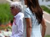 GP BAHRAIN, 16.04.2017 - Bernie Ecclestone (GBR) e sua moglie Fabiana Flosi (BRA)