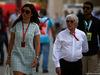 GP BAHRAIN, 16.04.2017 - Bernie Ecclestone (GBR), President e CEO of FOM e sua moglie Fabiana Flosi (BRA)