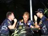 GP BAHRAIN, 16.04.2017 - Christian Horner (GBR), Red Bull Racing, Sporting Director e Daniel Ricciardo (AUS) Red Bull Racing RB13