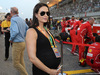 GP BAHRAIN, 16.04.2017 - Gara, Minttu Raikkonen, wife of Kimi Raikkonen (FIN)