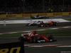 GP BAHRAIN, 16.04.2017 - Gara, Sebastian Vettel (GER) Ferrari SF70H pass e Lance Stroll (CDN) Williams FW40 retires from the race